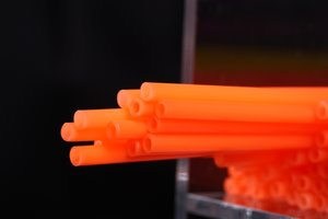 Medium Soft 1,8mm  FL. Orange/Milky