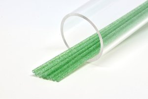 Soft 3mm Soft Green green glitter