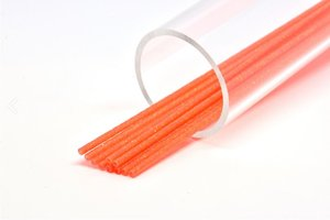 Soft 3mm Soft Orange orange glitter
