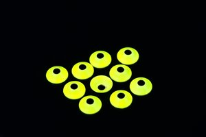 UfoDisk 6mm FL. Chartreuse