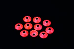 UfoDisk 6mm Fl. Red