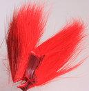 Bucktail bitar Red