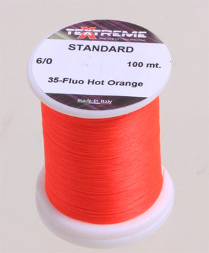 Textreme 6/0 FL. Hot Orange